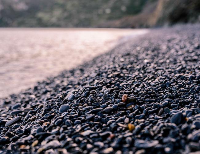 Черное побережье острова Хиос