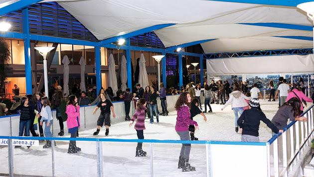 Athens-Free skating rink!