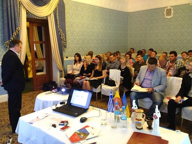 Презентація компанії Grekodom Development у Дніпропетровську