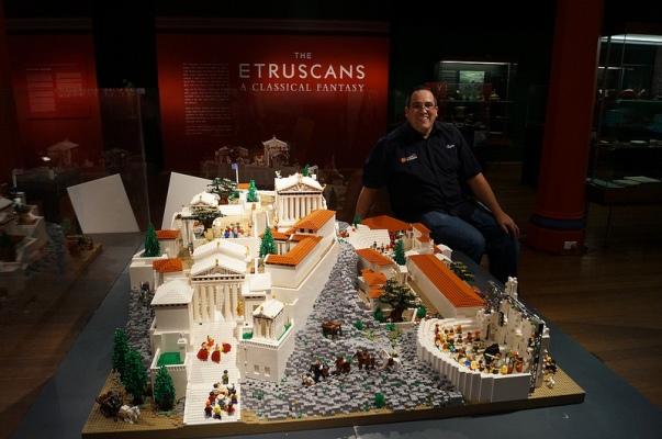 """Lego Acropolis"": A Gift from Australia to the Acropolis Museum"