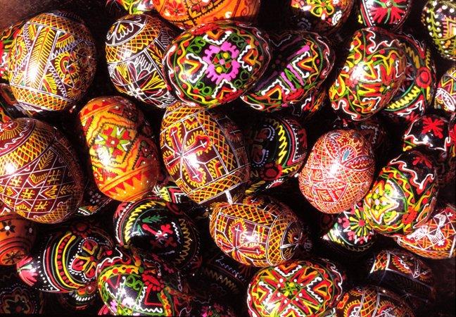 Greek Easter customs in the House of Angeliki Hadzimihali