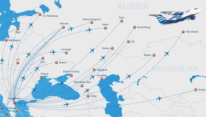 Ellinair запускает новый рейс Салоники - Измир