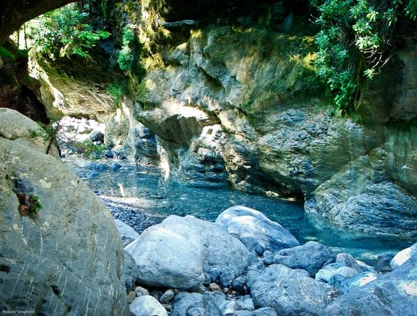 The Gorge of Samaria.