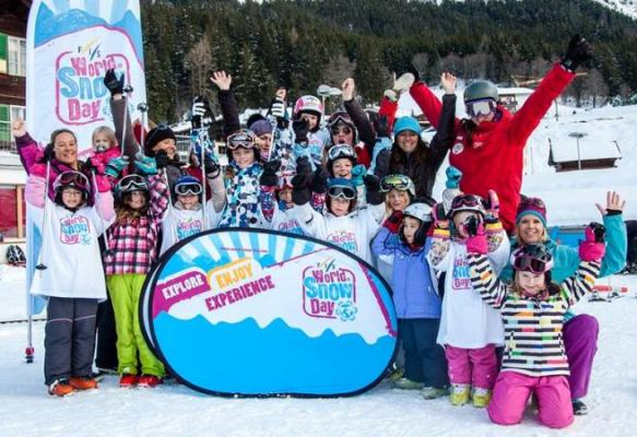 World Snow Day on Mount Parnassus