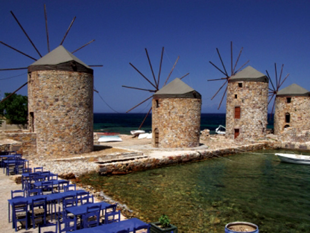 Plans for a large investment project in tourism on the island of Chios.
