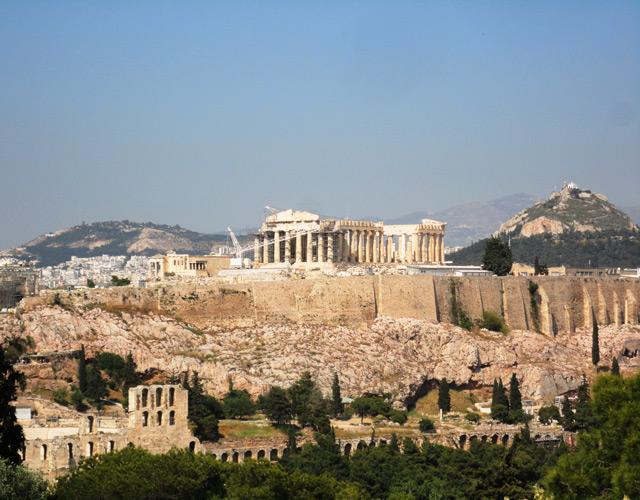 Самые фотографируемые места в Греции
