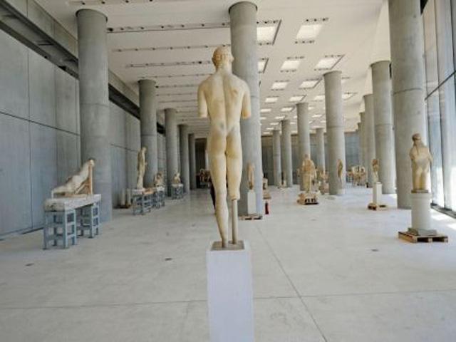 Increase of visitors in Greek museums