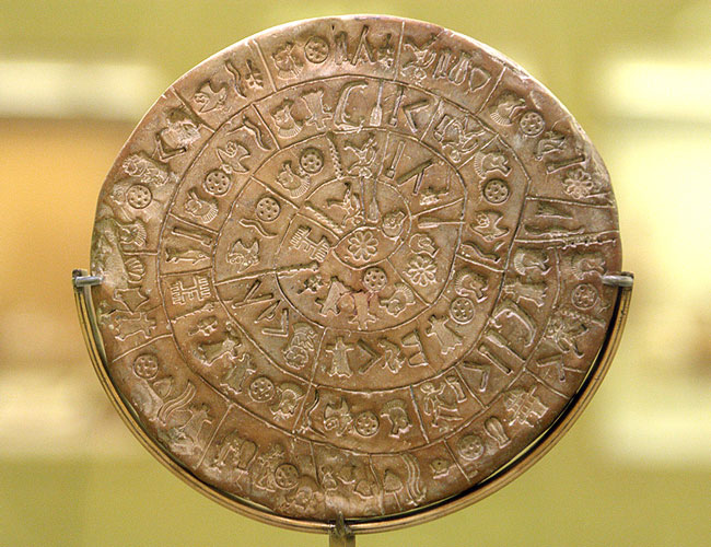 Decrypting the Phaistos Disk