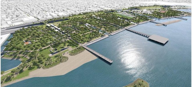 New project to improve the capital embankment in Paleo Faliro