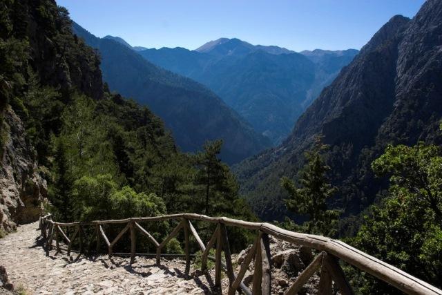 Ущелье Самарья на Крите привлекает все большее колличество туристов