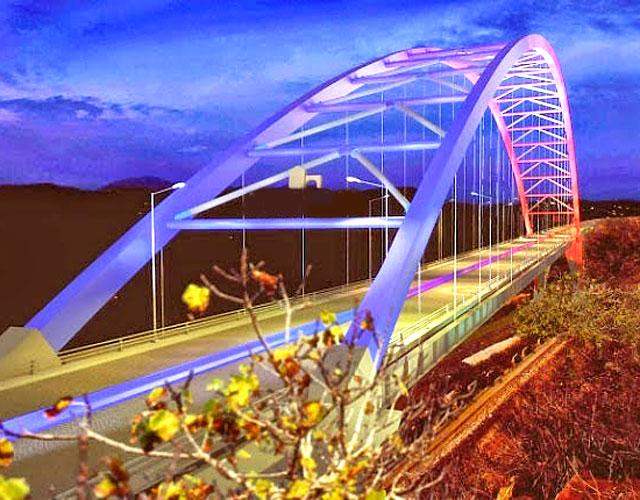 На Пелопоннесе достраивается один из крупнейших арочных мостов мира