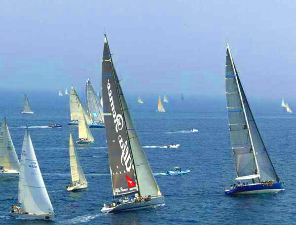Соревнования парусных яхт с 27 июля по 2 августа на п-ове Ситония