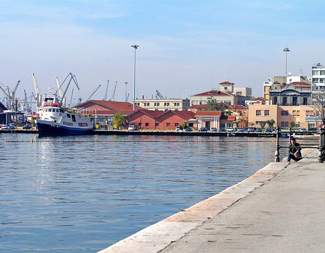 На финишной прямой линия Салоники-Измир.