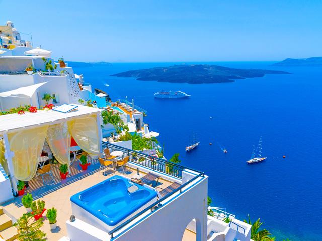 Самый красивый остров Санторини