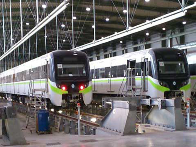 New Athens metro trains are ready to roll
