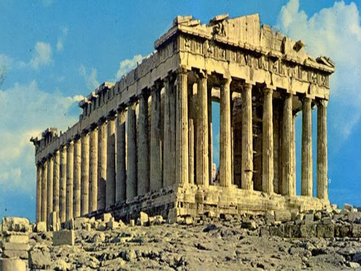 The Acropolis is in 2nd place in the list of places that everyone should visit.