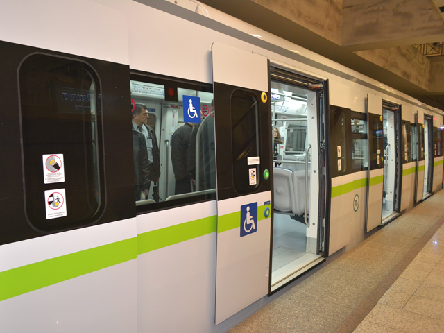 The installation of cameras in all wagons of the Athens Metro