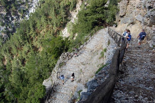 Два греческих ущелья – в числе самых впечатляющих европейских ущелий