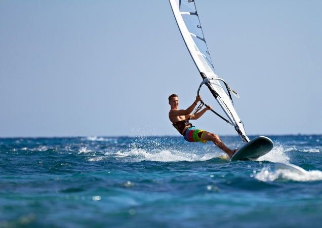 Windsurfing in Greece for extreme sports lovers