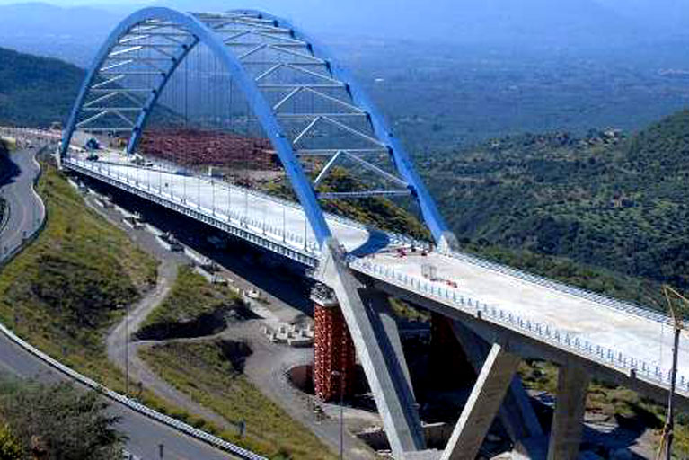 Tsakona Bridge 2nd Largest in Greece to Open Shortly