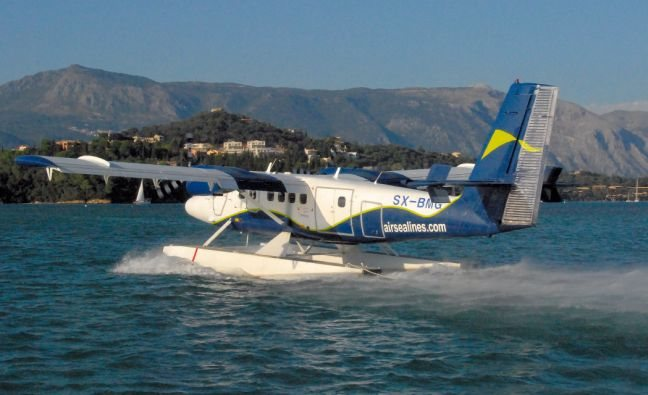 First Water Airport to Operate in Corfu