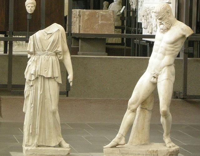 День открытых дверей в музеях Афин и Салоник в 2014 году.