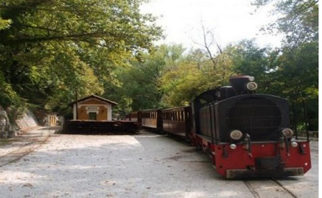 Экскурсионный поезд в Пилион продолжит курсировать и в зимний период