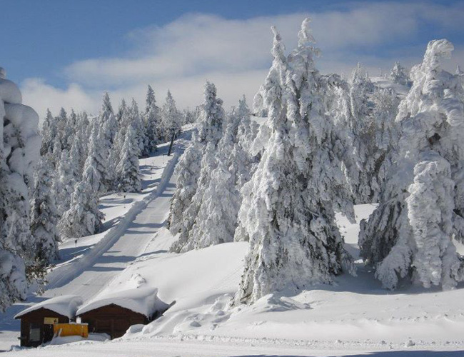 Рождественские праздники на горнолыжных курортах Северной Греции