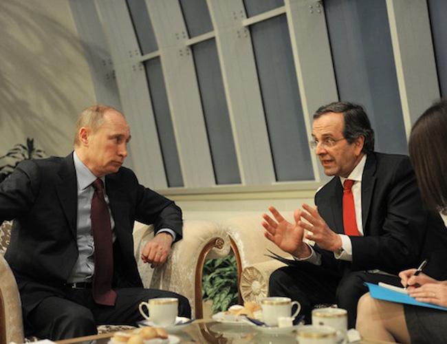 Греки предпочитают союз с Россией