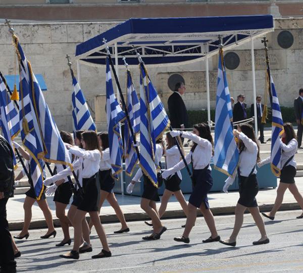 День независимости Греции.