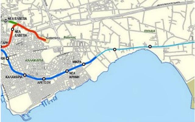 На апрель месяц намечается начало работ по строительству станции метро г. Салоники