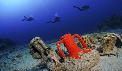 Подводные парки Греции