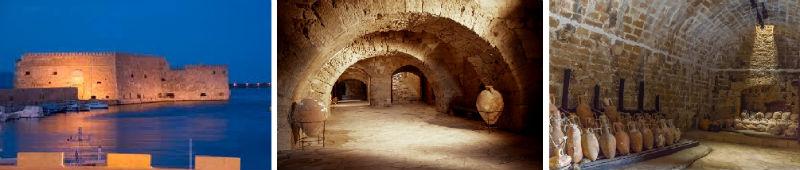 Die venezianische Festung Kules in Heraklion Kreta fürs Publikum geöffnet