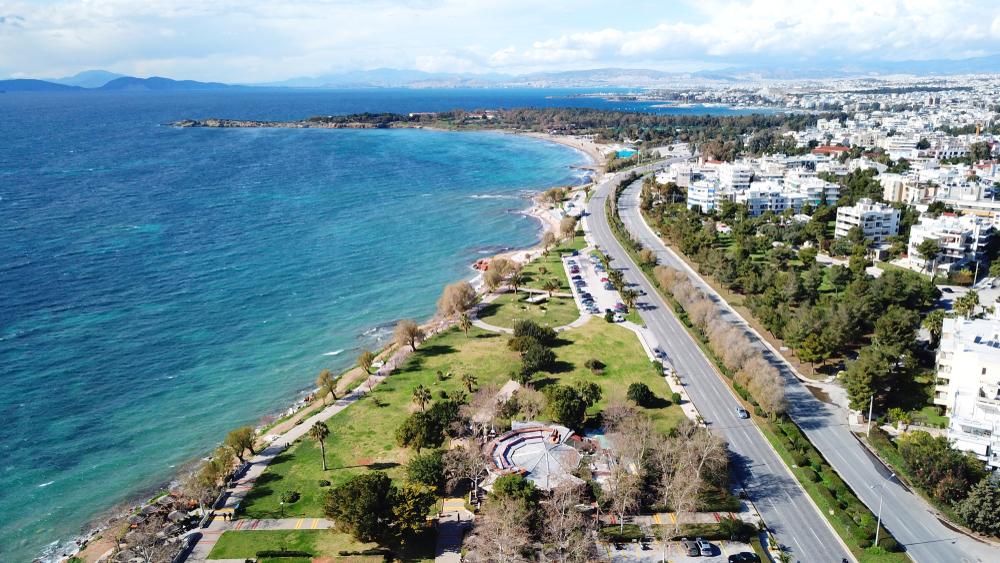 Восстановление набережной в Глифаде