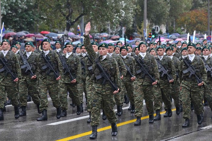 Spectacular Military Parade on 'OXI Day' in Thessaloniki