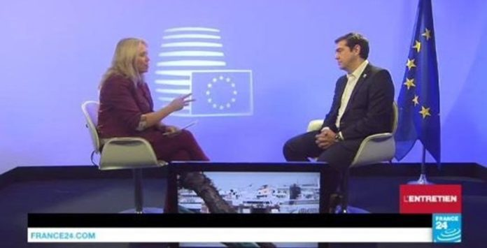 Greek PM Tsipras to France24: EU Partners Should Honor Obligations