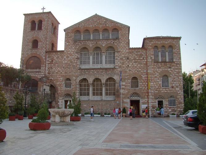 День святого Дмитрия Солунского отмечают в Салониках 26 октября