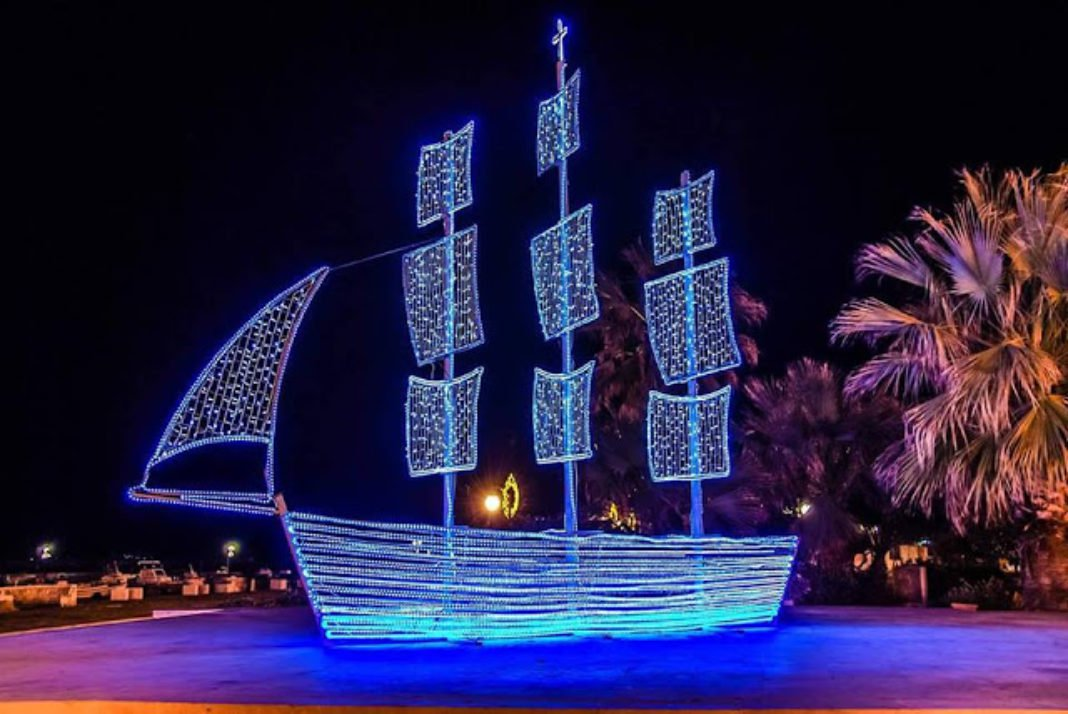 Why Greeks Traditionally Decorate a Boat Instead of a Christmas Tree