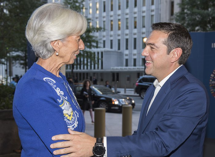 IMF's Lagarde: Implementation of Program, Debt Relief Essential for Greece