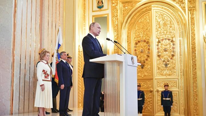 Ορκίστηκε για τέταρτη θητεία ο Πούτιν