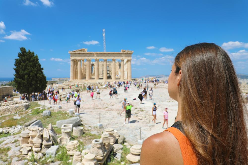 Афины признаны самым посещаемым городом в Греции