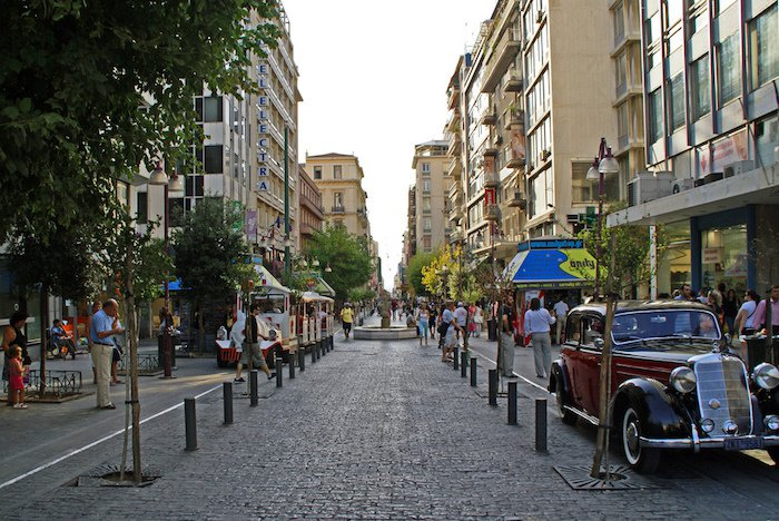 Cushman & Wakefield: Athens' Ermou Street Ranked 25th Most Expensive Shopping Street in the World