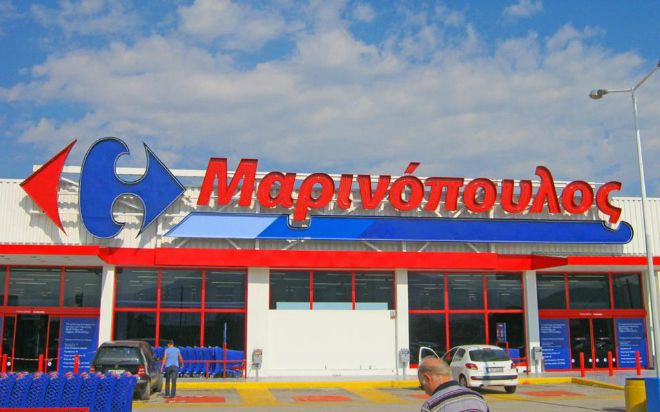 Marinopoulos, Greece's Biggest Super Market Chain Becomes Sklavenitis Stores This Wednesday
