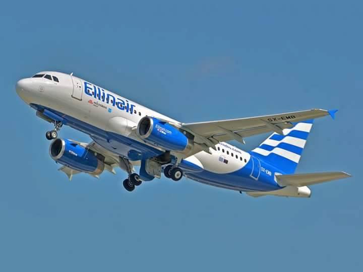 Ellinair - в лідерах ТОП 50 пунктуальних авіакомпаній Європи