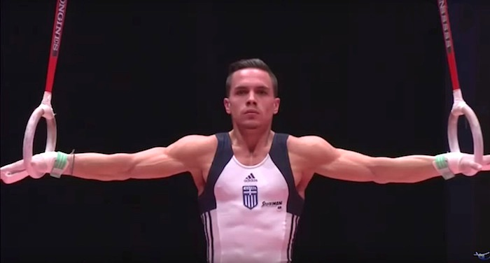 Eleftherios Petrounias Wins Gold at FIG World Cup