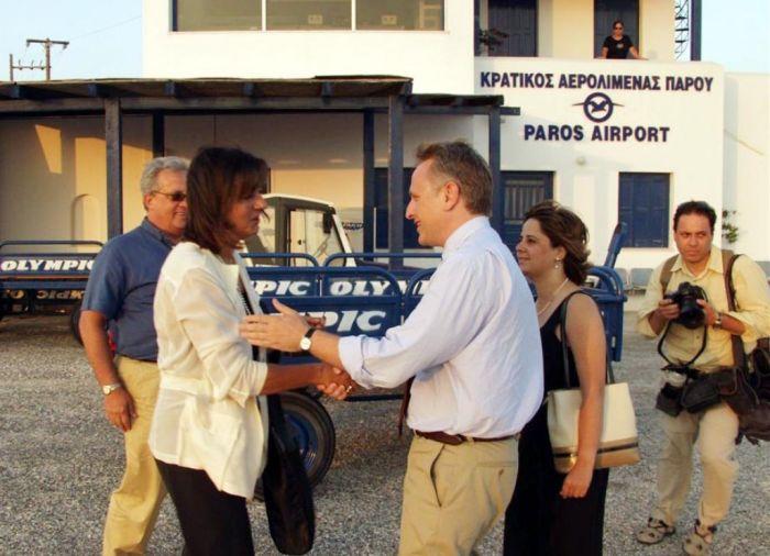 Optimierter Flughafen auf Kykladen-Insel Paros
