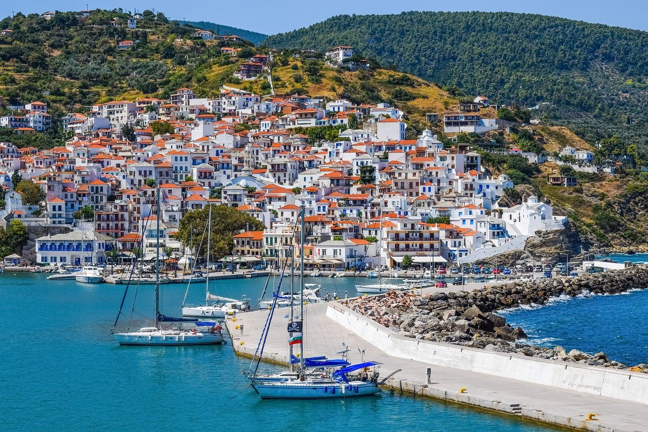 "Greek island Skopelos is included in the category of ""mysterious islands"""
