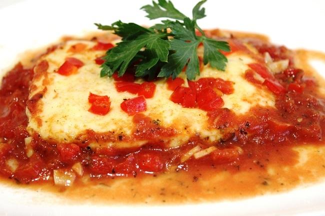 Рецепт греческого блюда фета Саганаки