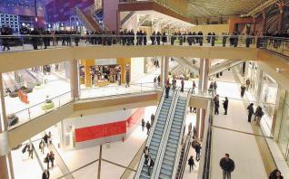 Εντονο το ενδιαφέρον για τα εμπορικά κέντρα παρά την κρίση