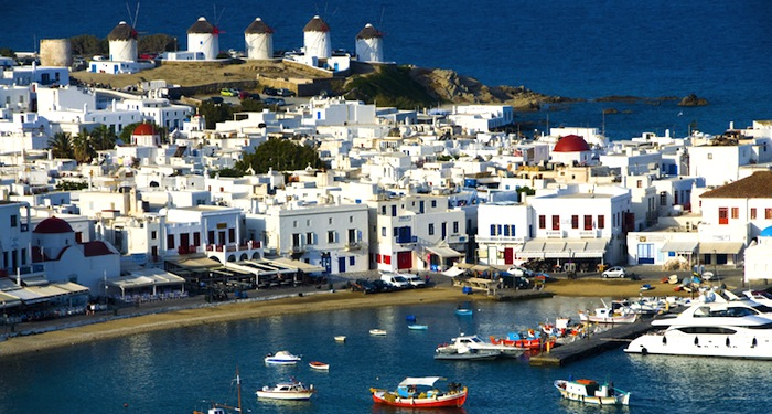 Greek Island of Mykonos Booming With Million Euro Business Deals